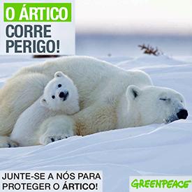 Greenpeace : Salve o Ártico